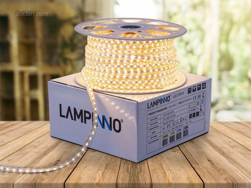 1 x 50 Meter einfarbige wasserdichte SMD 5050 LED