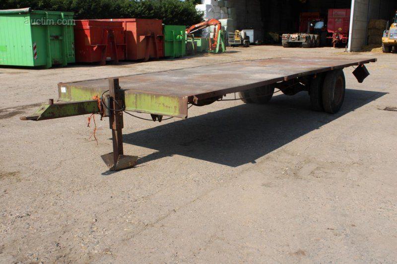 1 Plattform / Strohwagen NN