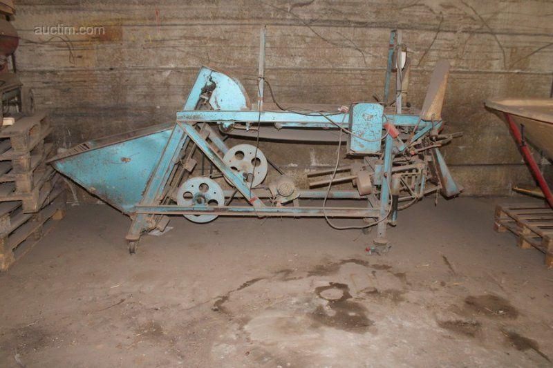 1 antike mobile Absackmaschine NN für Kartoffeln