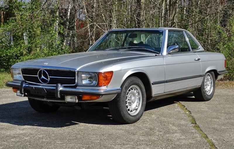 1973 MERCEDES-BENZ 450SL R107 1973 Erstanmeldung: