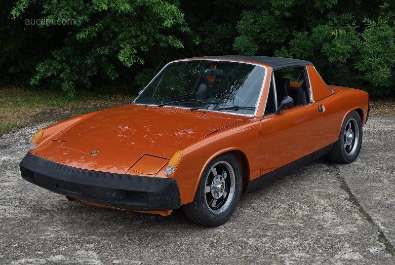 1975 PORSCHE 914 Baujahr: 1975 Fahrgestell