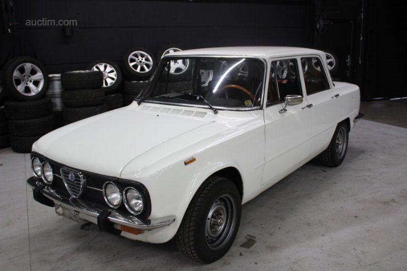 1976 ALFA Giulia super 1.3 Lusso Baujahr:
