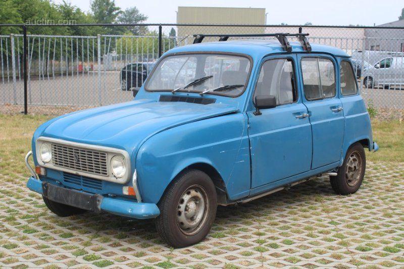 1979 RENAULT R4 Baujahr: 1979 Fahrgestell