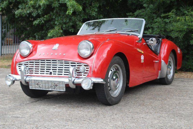 1962 TRIUMPH TR3 Baujahr: 1962 Fahrgestell