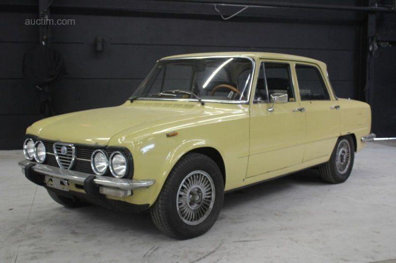 1976 ALFA Romeo Giulia 1300 Super Erstanmeldung: