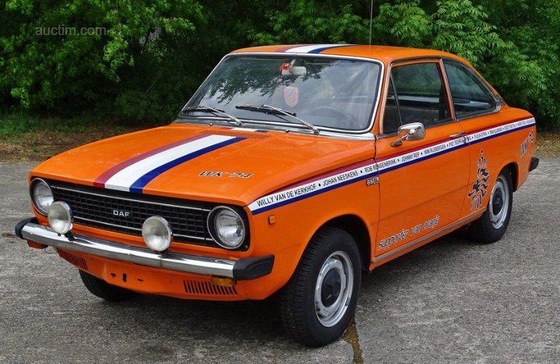 1974 DAF 66 Baujahr: 1974 Kilometerzähler