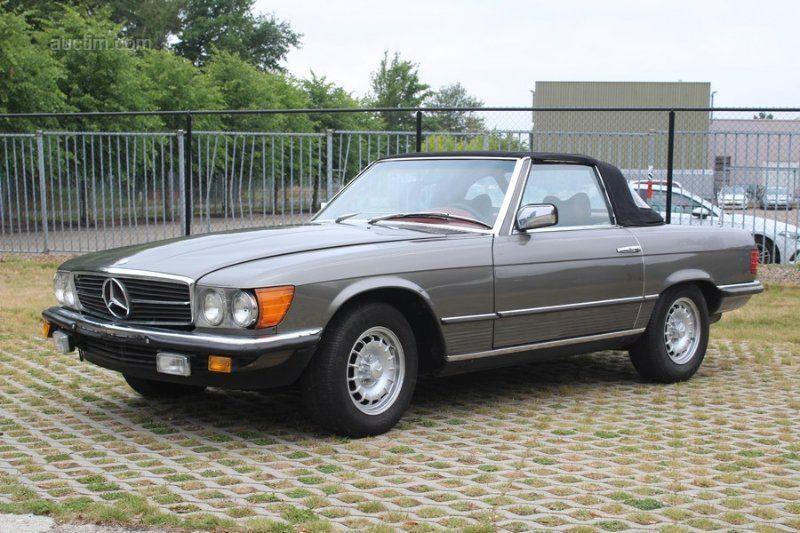 1979 MERCEDES-BENZ 450 SL Baujahr: