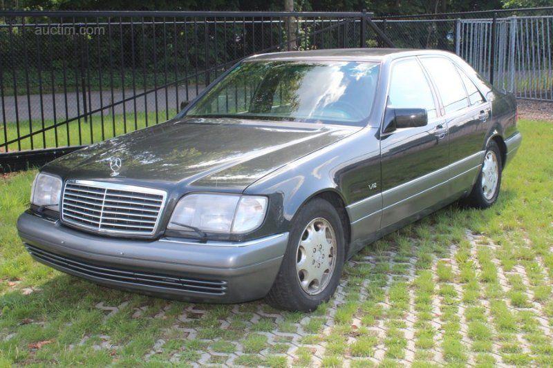 1991 MERCEDES-BENZ 600 SE Limousine V12 Erstanmeldung: