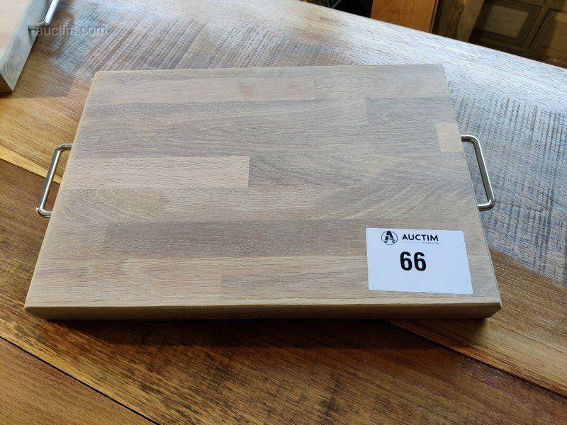 Massivholzunterlage 450x320x40 mm Abmessungen: 450x320x40