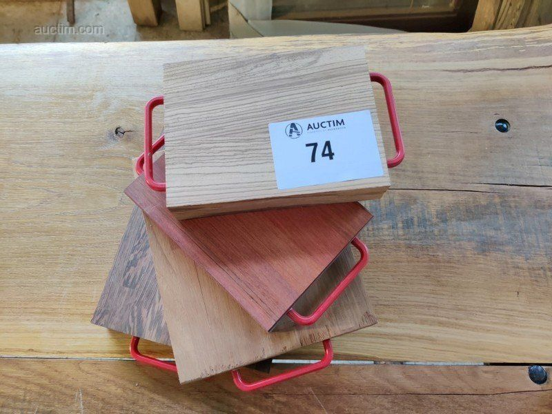 Massivholzunterlage 200x150x40 мм 4 шт. Maße: