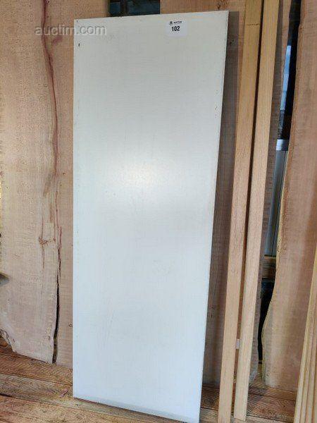 Türen weiß 2020x730x40 4 Stück + passende Türrahmen
