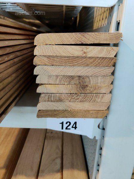 18 лм Sockelleisten aus Massiver französischer Eiche