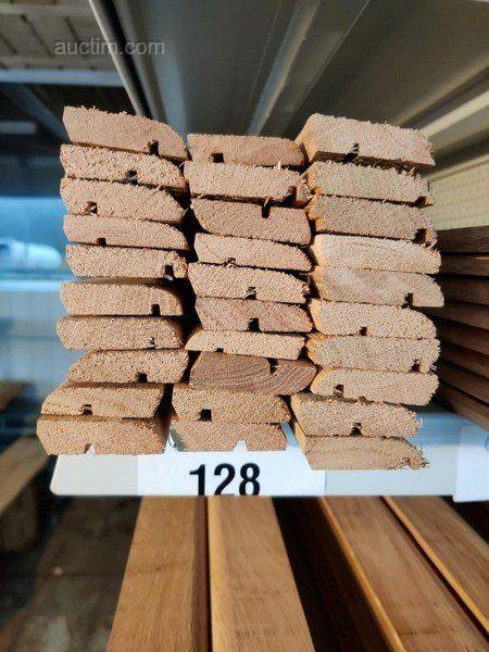 45 lm Sockelleisten aus massiver französischer Eiche