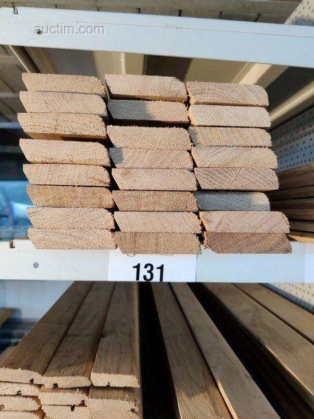 43,2 лм Sockelleisten aus Massiver französischer Eiche