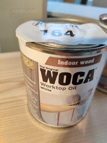 Professionalelle Produkte zur Behandlung von Holz Woca Gewicht