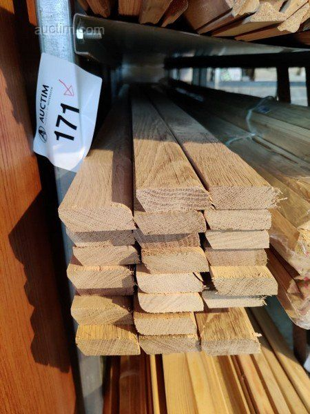 46 лм Sockelleisten aus Massiver französischer Eiche