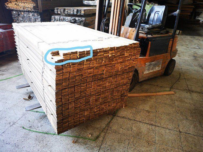 55,5 лм Türrahmen Holzrahmen 20 Stück