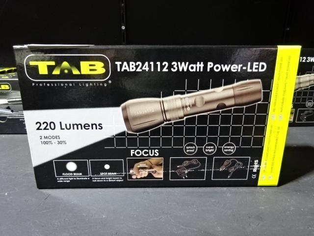 Wiederaufladbare Stablampe