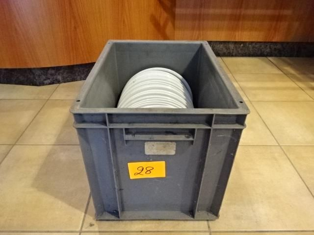 Kunststoffbehälter mit Platten