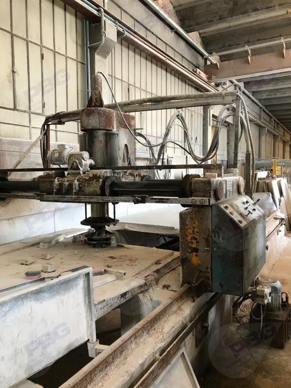 Automatische Einkopf-Poliermaschine mit Drehtisch