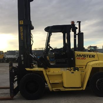 2008 Hyster H10.00XM 10 ton LPG Forklift