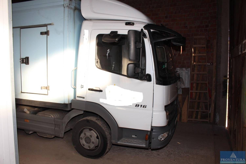 Lkw Kühlkoffer MERCEDES-BENZ 816 Atego Bluetec5