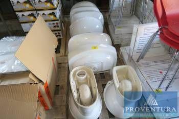 Keramik-Waschbecken weiß