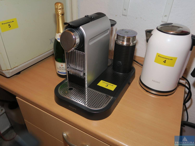 Kapselträger-Kaffeemaschine KRUPS Nespresso