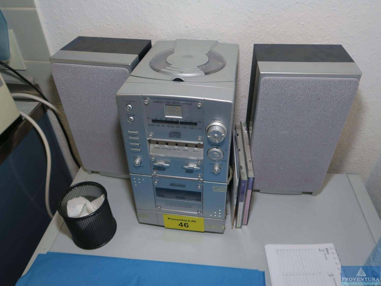Micro-Stereoanlage WELLTECH
