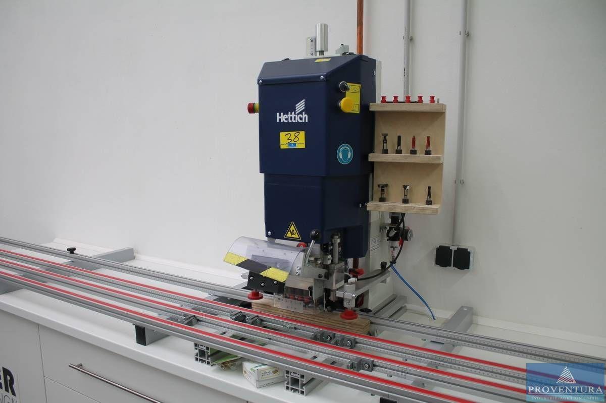 Bohr- u. Einpressautomat HETTICH Blue Max Modular Basic
