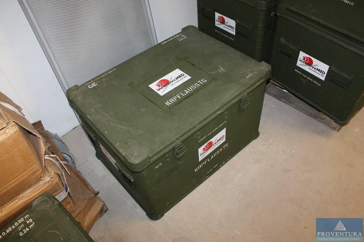 Bundeswehr-Transportkisten