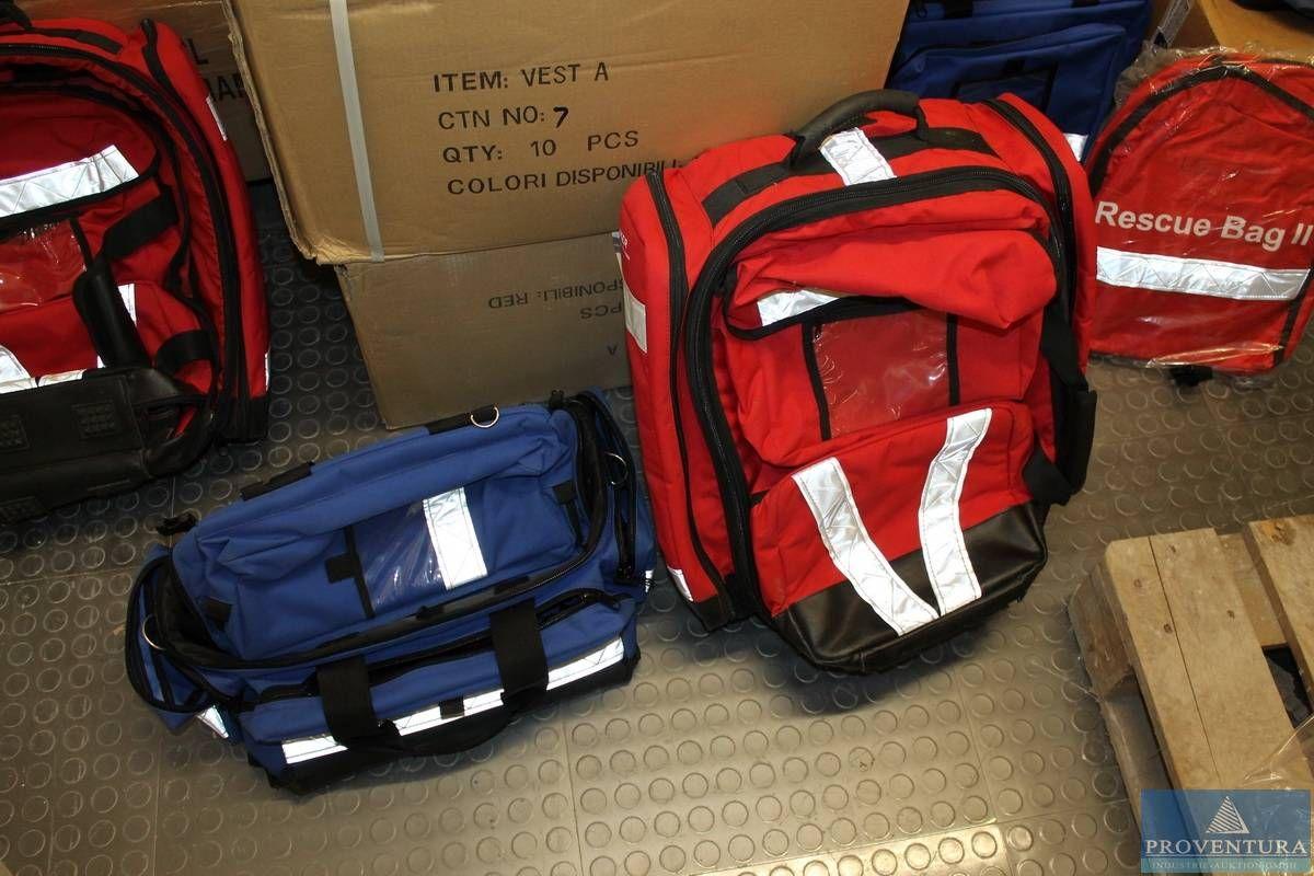 Rucksäcke und Taschen für Sanitätspersonal