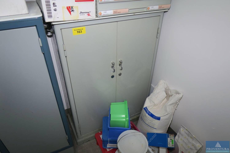Metallschrank grau ca. 70x30x100h cm