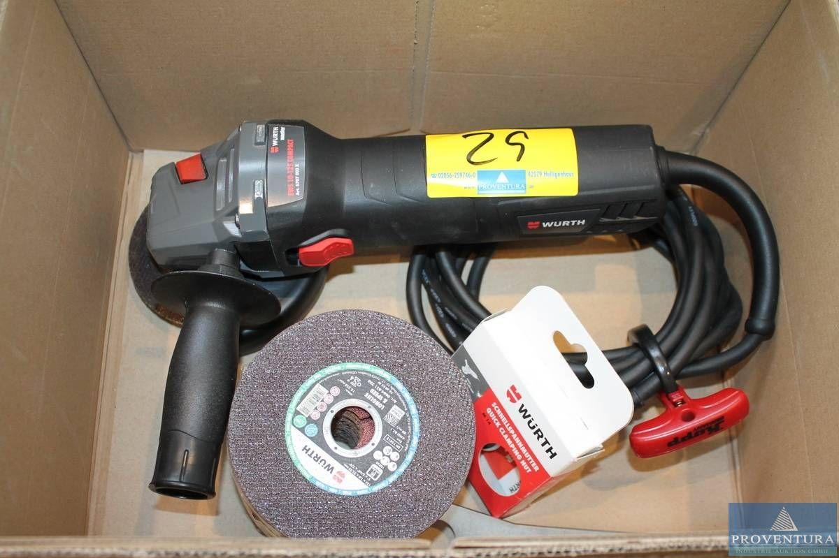 Einhand-Winkelschleifer WÜRTH EWS 10-125 Compact