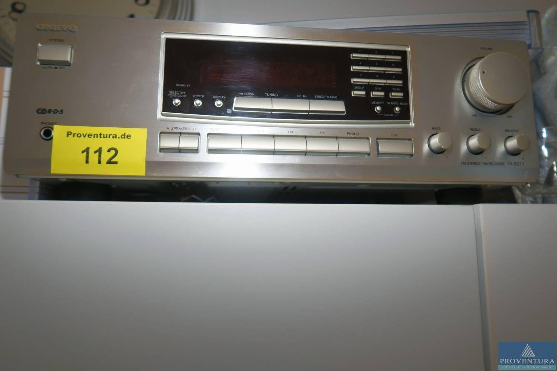 Récepteur AM ONKYO TX-8211