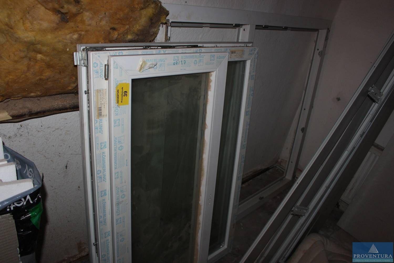 Kunststoff-Fensterelement KÖMMERLING ca. 157.5x137.5 cm