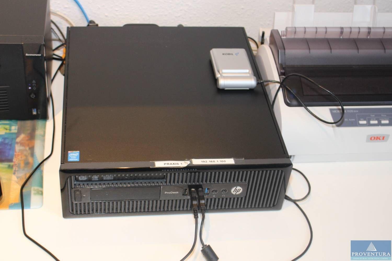 PC Desktop HP ProDesk Pentium G3220