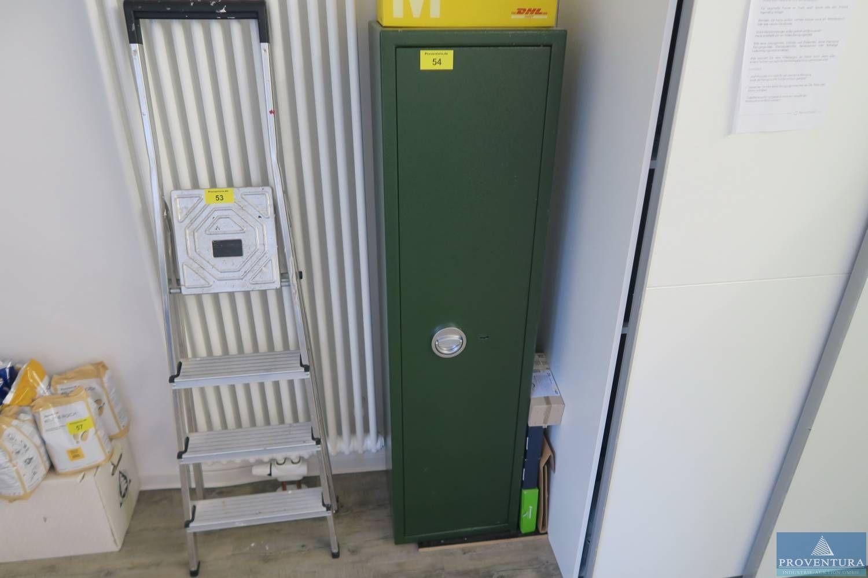 Sicherheitsschrank Metall grün