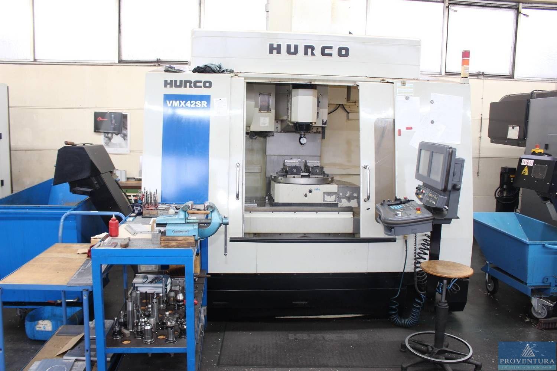 5-Achs-CNC-BAZ HURCO VMX42SR