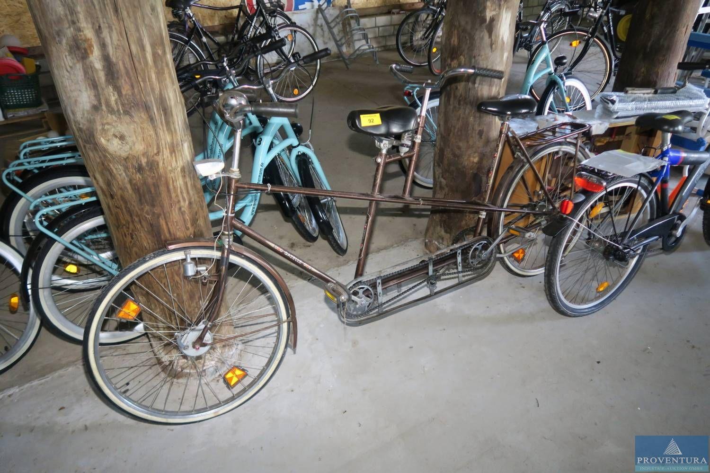 Tandem-Fahrrad GAZELLE