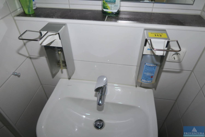 Desinfektionsspender Aluminium