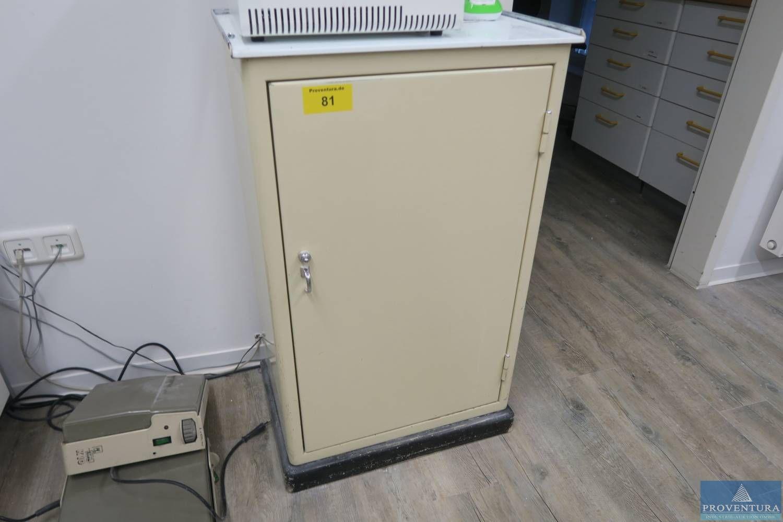 Metallschrank beige ca. 50x40x80h cm