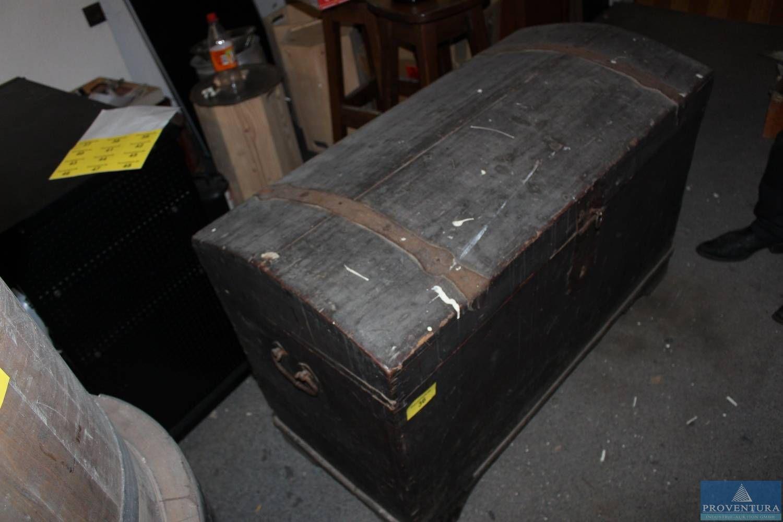 Holztruhe Nadelholz ca. 90x60x60 cm
