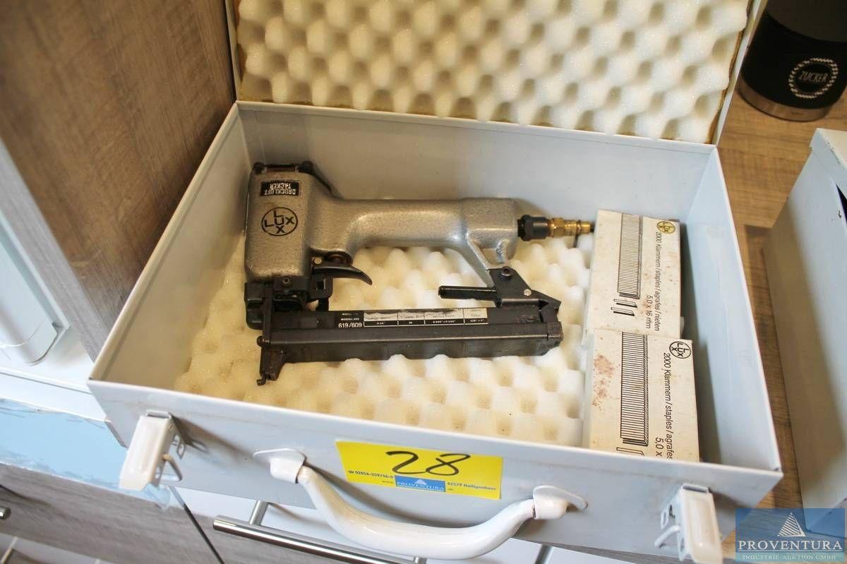 Drucklufttacker LUX 619/609