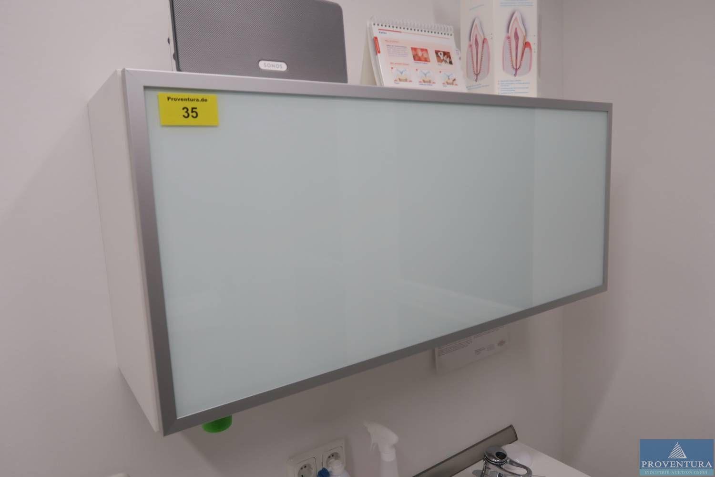 Hygiène-Wandschrank weiß