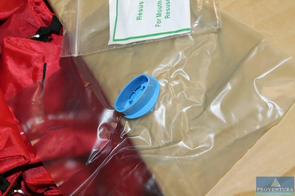 Beatmungsfolie Lifesafer (Tüten mit einer Tülle für Mund-zu-Mund-Beatmung)