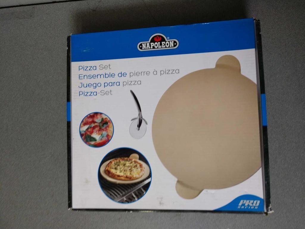 NEU Napoleon Pro Serie Pizza Stein Set