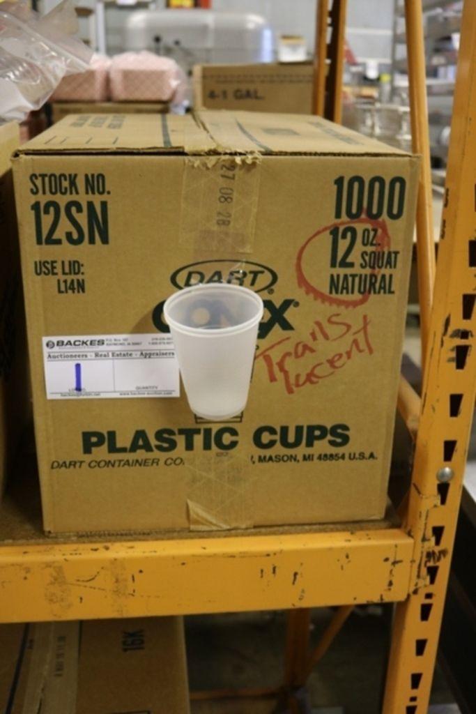 Case Dart 12SN 12oz Conex Plastikbecher