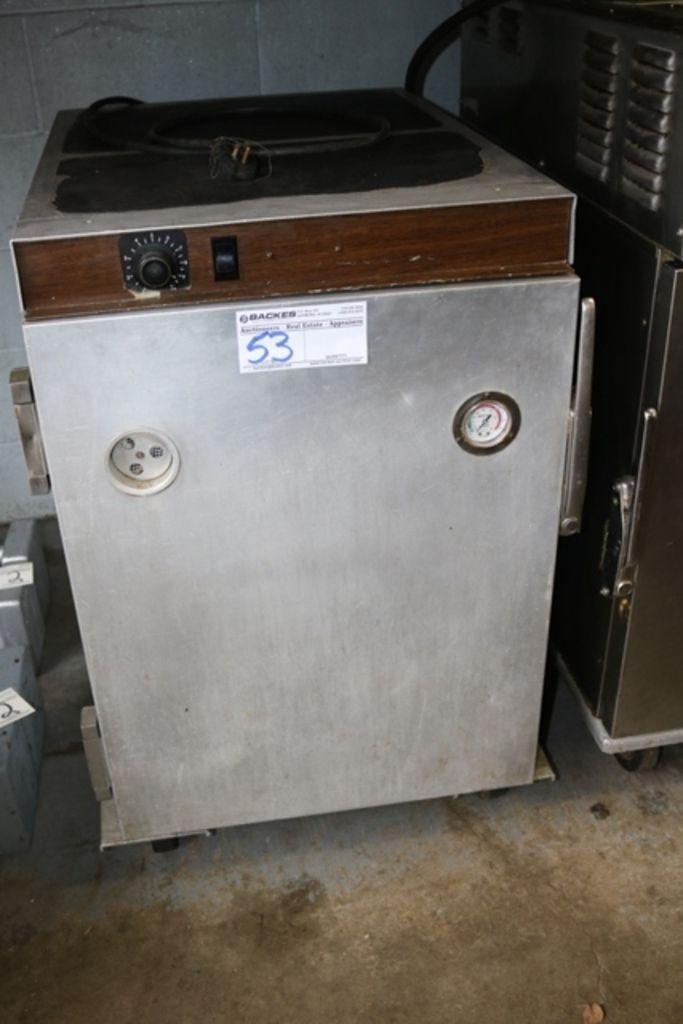 Crescor H3391813GML1 halbe Größe tragbare Wärmeschrank 110V