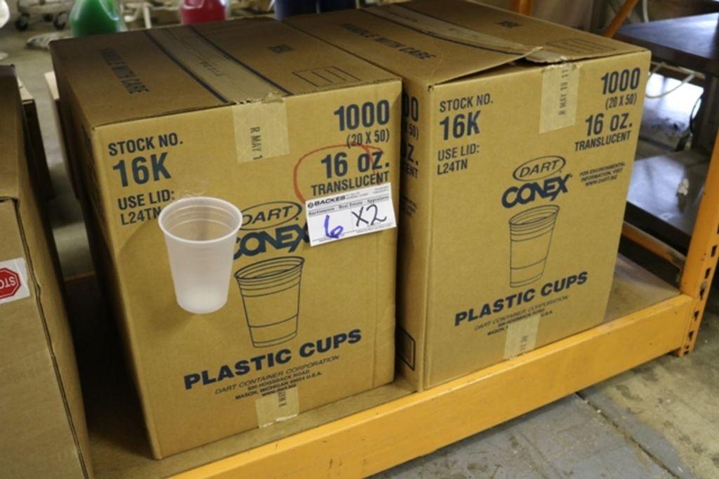 Zeiten 2 - Cases Dart 16K Conex 16oz Plastikbecher